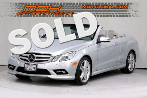 2011 Mercedes-Benz E 550 - Cabriolet - MINT - P2 - AMG - DISTRONIC in Los Angeles