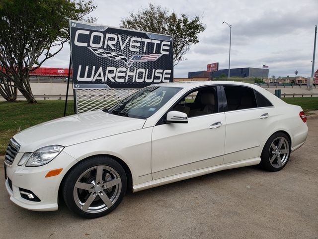 2011 Mercedes-Benz E 550 Luxury, Auto, CD Player, Sunroof, Chromes Only 90k in Dallas, Texas 75220