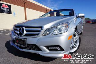2011 Mercedes-Benz E550 Cabriolet Convertible E Class 550 AMG Sport Pkg | MESA, AZ | JBA MOTORS in Mesa AZ