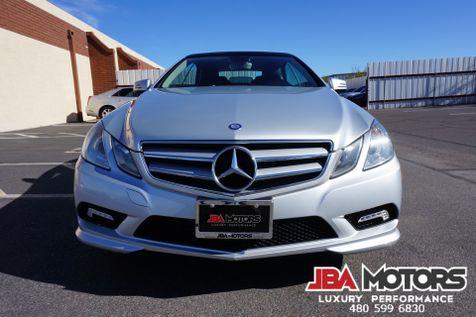 2011 Mercedes-Benz E550 Cabriolet Convertible E Class 550 AMG Sport Pkg   MESA, AZ   JBA MOTORS in MESA, AZ