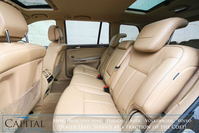 2011 Mercedes-Benz GL 450 AWD Luxury SUV w/Nav, Backup Cam, Heated Front and Rear Seats & 3rd Row Seats in Eau Claire, Wisconsin 54703