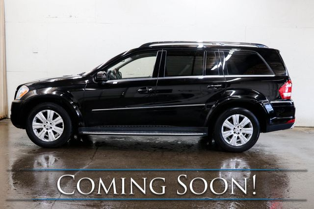2011 Mercedes-Benz GL550 4MATIC AWD 7-Passenger SUV w/Dual DVD, Nav, Heated/Cooled Seats, Moonroof & Tow Package in Eau Claire, Wisconsin 54703
