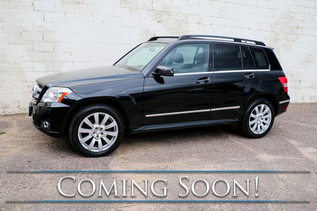 2011 Mercedes-Benz GLK350 4MATIC AWD Crossover w/Panoramic Moonroof, Heated Seats, Premium Pkg & Tow Hitch in Eau Claire, Wisconsin 54703