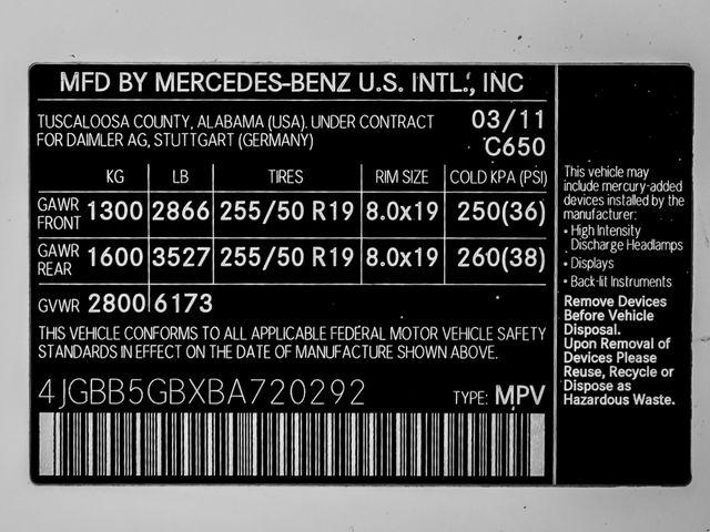 2011 Mercedes-Benz ML 350 Burbank, CA 27