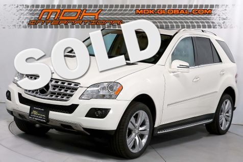2011 Mercedes-Benz ML 350 - P1 - Navigation - Bluetooth in Los Angeles