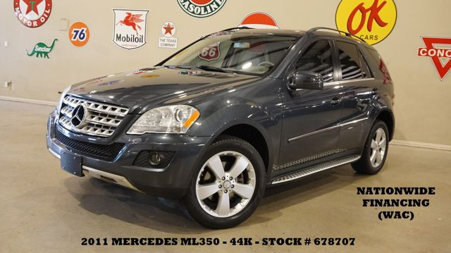 2011 Mercedes-Benz ML 350 SUNROOF,NAV,BACK-UP CAM,HTD LTH,44K