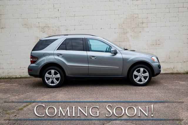 2011 Mercedes-Benz ML350 4Matic AWD Luxury SUV w/Navigation, Backup Cam, Heated Seats, Bluetooth and Tow Pkg in Eau Claire, Wisconsin 54703