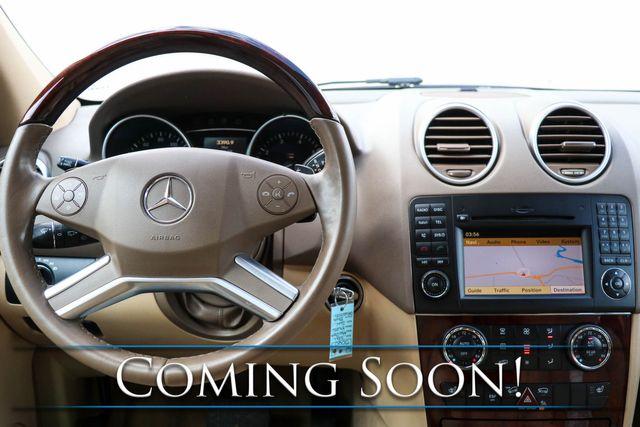 2011 Mercedes-Benz ML350 4Matic AWD Luxury SUV w/Nav, Backup Cam, Moonroof, Keyless Go, Premium Audio & Tow Pkg in Eau Claire, Wisconsin 54703