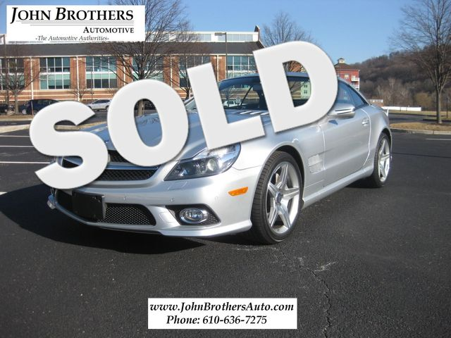 2011 Sold Mercedes-Benz SL 550 Sport Package Conshohocken, Pennsylvania