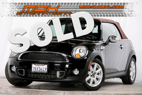 2011 Mini Convertible s - Leather - Bluetooth - Sport seats in Los Angeles