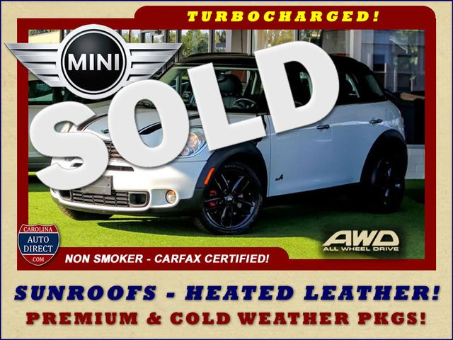 2011 Mini Countryman S AWD - PREMIUM & COLD WEATHER PKGS - DUAL SUNROOF Mooresville , NC 0