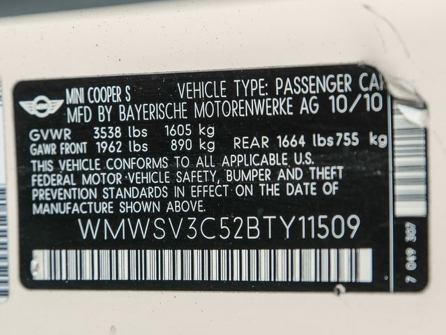 2011 Mini Hardtop S Burbank, CA 23
