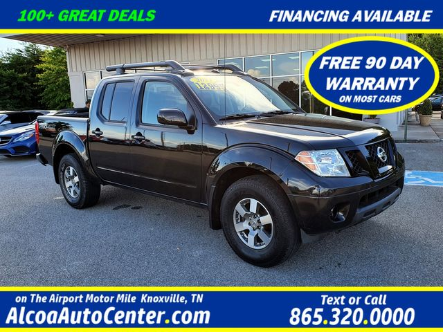 2011 Nissan Frontier PRO-4X 4.0L V6 Crew Cab w/Leather/Sunroof/Alloys