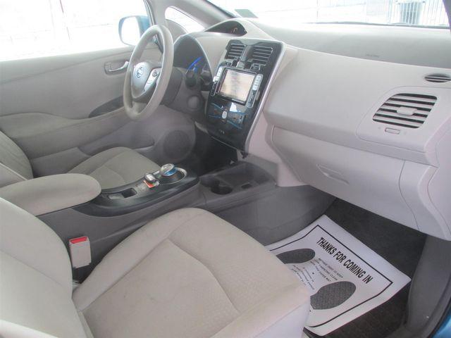 2011 Nissan LEAF SL-e Gardena, California 8