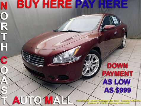 2011 Nissan Maxima 3.5 SAs low as $999 DOWN in Cleveland, Ohio