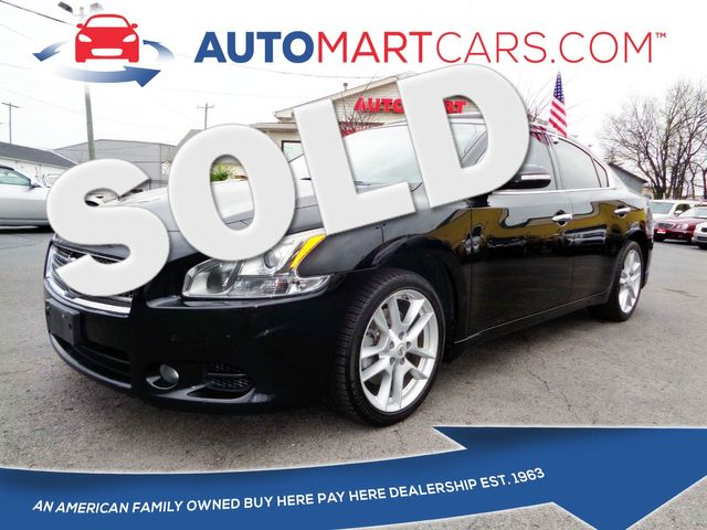 2011 Nissan Maxima 3.5 SV w/Premium Pkg   Nashville, Tennessee   Auto Mart Used Cars Inc. in Nashville Tennessee