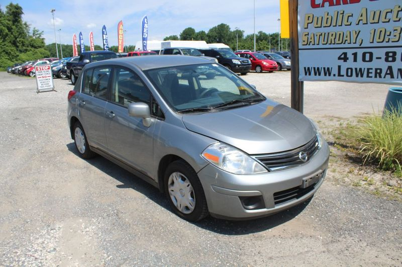 2011 Nissan Versa 18 S  city MD  South County Public Auto Auction  in Harwood, MD