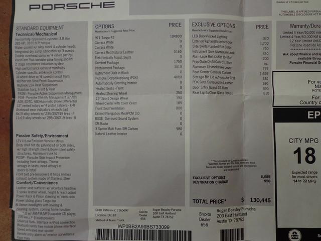 2011 Porsche 911 Targa 4S Austin , Texas 34