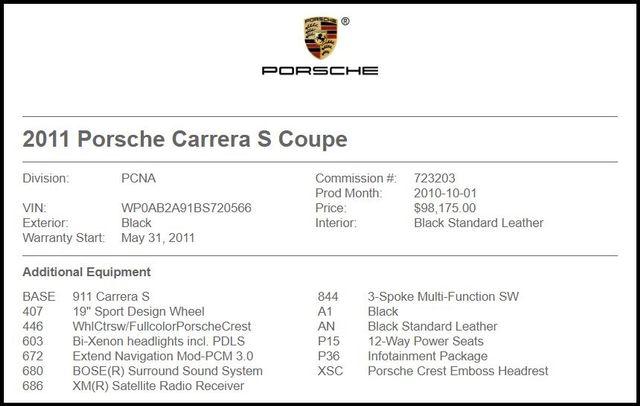 2011 Porsche 911 in Carrollton TX