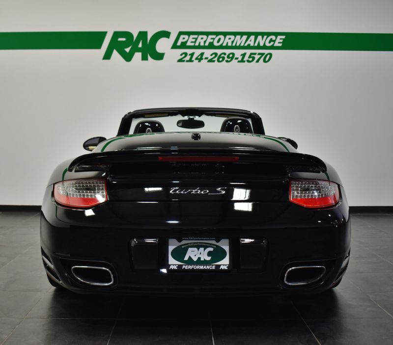 2011 Porsche 911 Turbo S Cabriolet in Carrollton, TX