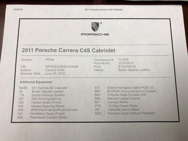 2011 Porsche 911 Carrera 4S Longwood, FL 47