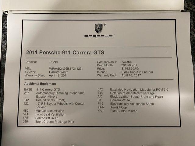 2011 Porsche 911 Carrera GTS Longwood, FL 71