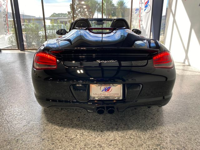 2011 Porsche Boxster Spyder Longwood, FL 5