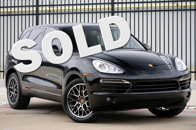 2011 Porsche Cayenne 20's * NAVI * Sunroof * XENONS * AC Seats * LOADED Plano, Texas