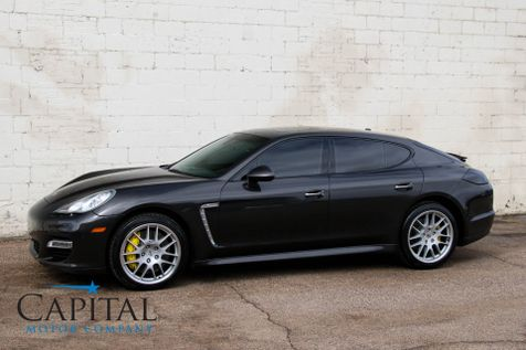 2011 Porsche Panamera Turbo AWD w/Sport Chrono Plus Pkg, Navigation, Heated/Cooled Seats & 20