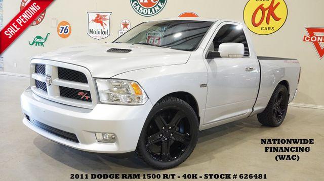 2011 Dodge RAM 1500 R/T NAV,BACK-UP CAM,LTH,BLK 22'S,40K!