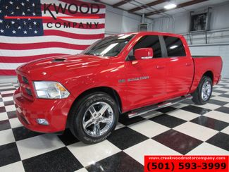 2011 Ram 1500 Dodge Sport SLT 2WD Hemi Red 1 Owner Chrome 20s Leather in Searcy, AR 72143