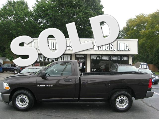 2011 Ram 1500 ST Richmond, Virginia 0