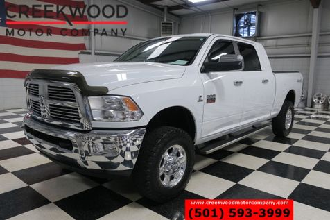 2011 Ram 2500 Dodge Laramie 4x4 Diesel Mega Cab BFG White Leather Nav in Searcy, AR