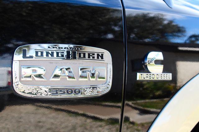 2011 Ram 3500 DRW Longhorn Laramie Mega Cab 4X4 6.7L Cummins Diesel Auto LOADED Sealy, Texas 24