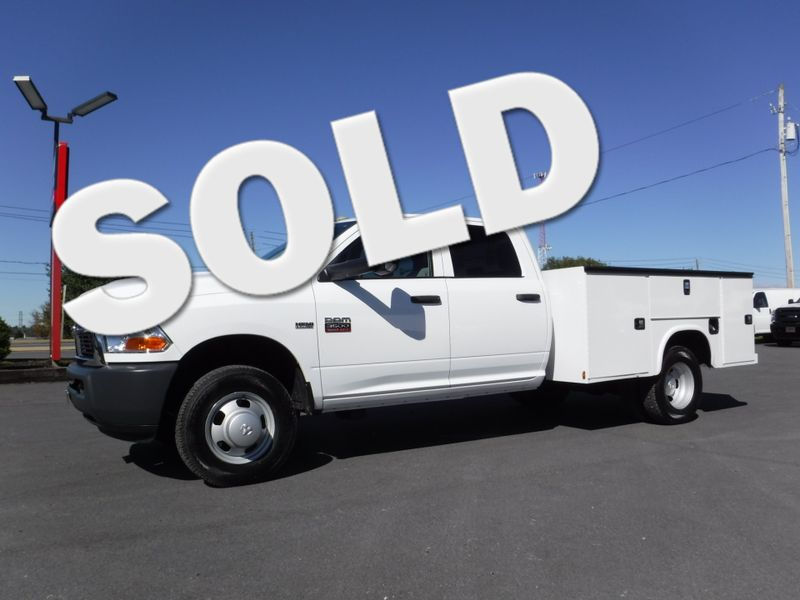 2011 Ram 3500 Crew Cab 2wd with New 9FT Knapheide Utility Bed in Ephrata PA