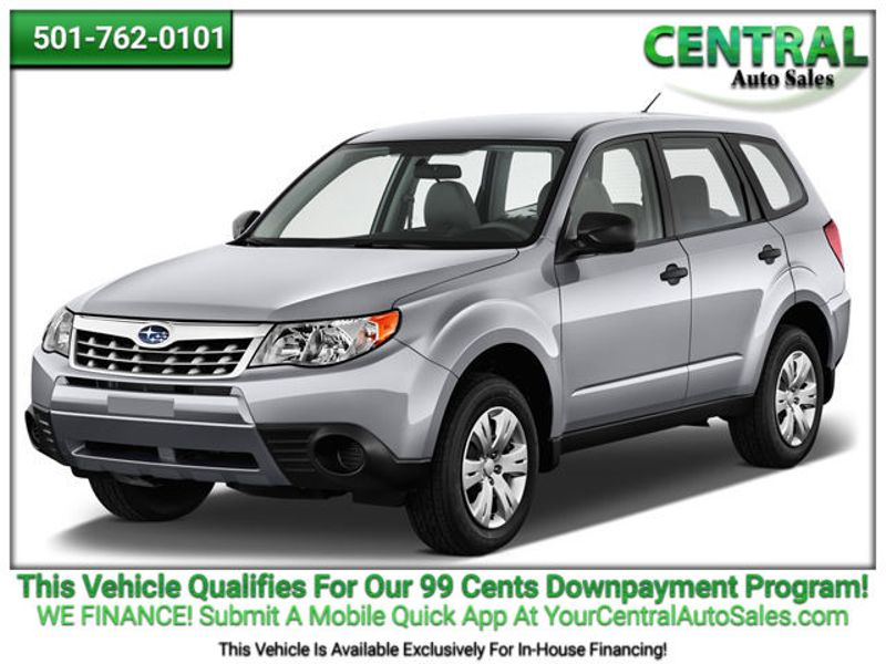 2011 Subaru Forester 2.5X Premium   Hot Springs, AR   Central Auto Sales in Hot Springs AR