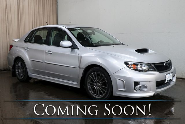 2011 Subaru Impreza WRX Limited AWD Sports Car with Moonroof, Heated Seats and Bluetooth Audio