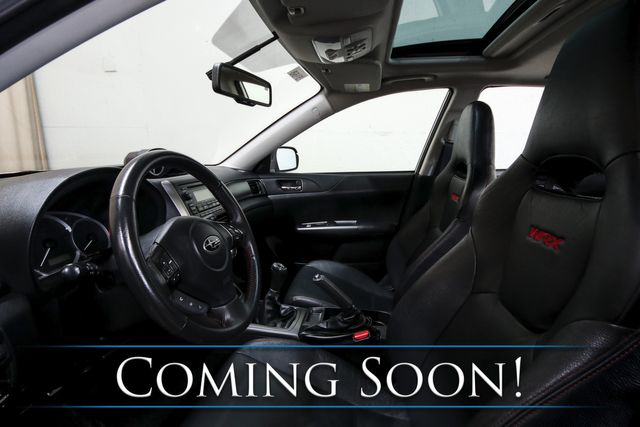 2011 Subaru Impreza WRX Limited AWD Sports Car with Moonroof, Heated Seats and Bluetooth Audio in Eau Claire, Wisconsin 54703