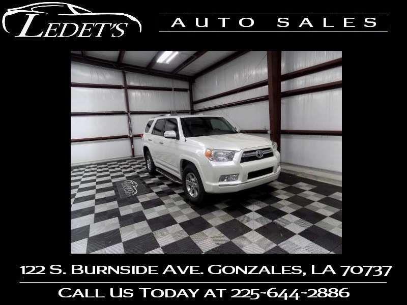 2011 Toyota 4Runner SR5 - Ledet's Auto Sales Gonzales_state_zip in Gonzales Louisiana
