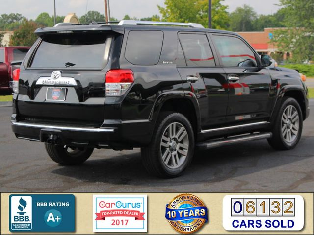 2011 Toyota 4Runner Limited 4X4- NAVIGATION - SUNROOF - HEATED LEATHER Mooresville , NC 2
