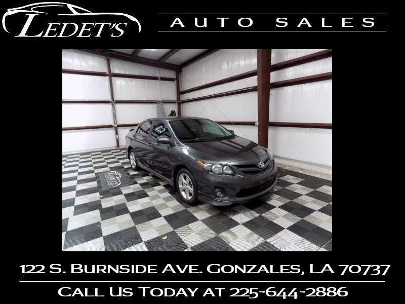 2011 Toyota Corolla S - Ledet's Auto Sales Gonzales_state_zip in Gonzales Louisiana