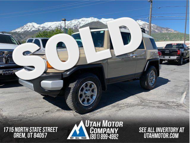 2011 Toyota FJ Cruiser    Orem, Utah   Utah Motor Company in  Utah