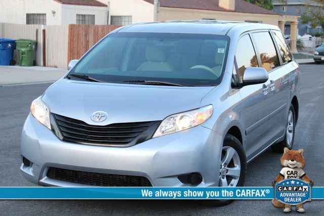 2011 Toyota SIENNA LE AUTOMATIC SERVICE RECORDS
