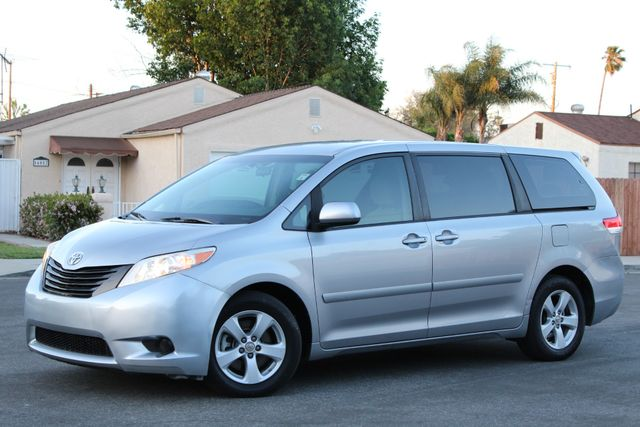 2011 Toyota SIENNA LE AUTOMATIC SERVICE RECORDS in Van Nuys, CA 91406