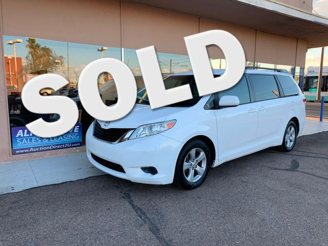2011 Toyota Sienna LE 3 MONTH/3,000 MILE NATIONAL POWERTRAIN WARRANTY Mesa, Arizona