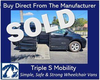 2011 Toyota Sienna Le Wheelchair Van Handicap Ramp Van in Pinellas Park, Florida 33781