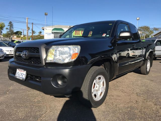 2011 Toyota Tacoma 4D 4-Cyl Extended Cab