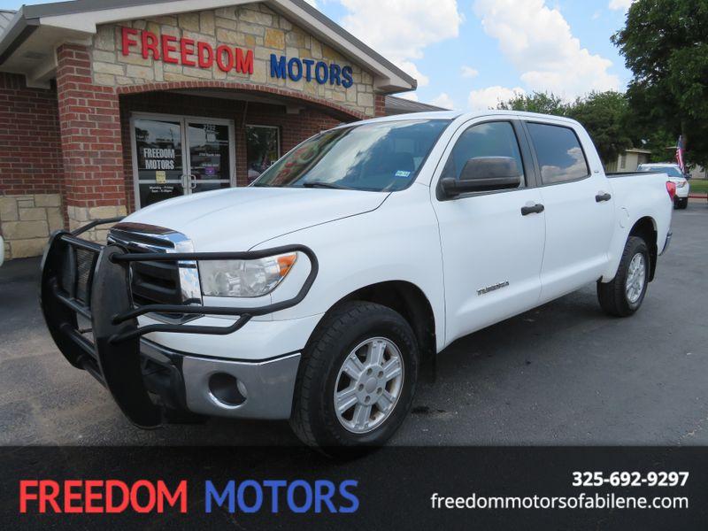 2011 Toyota Tundra Crewmax 2WD SR5 | Abilene, Texas | Freedom Motors  in Abilene Texas