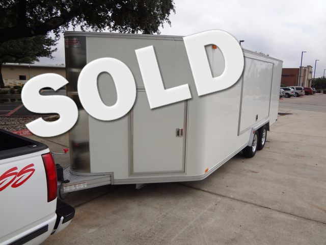2011 Trailex CTE-80180 Enclosed Aluminum Trailer Austin , Texas 0
