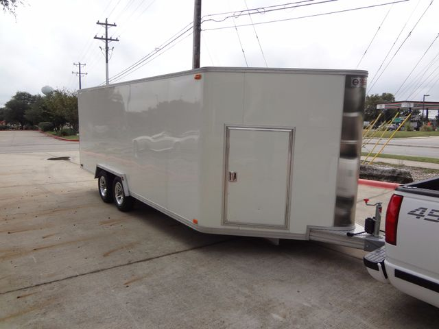 2011 Trailex CTE-80180 Enclosed Aluminum Trailer Austin , Texas 1
